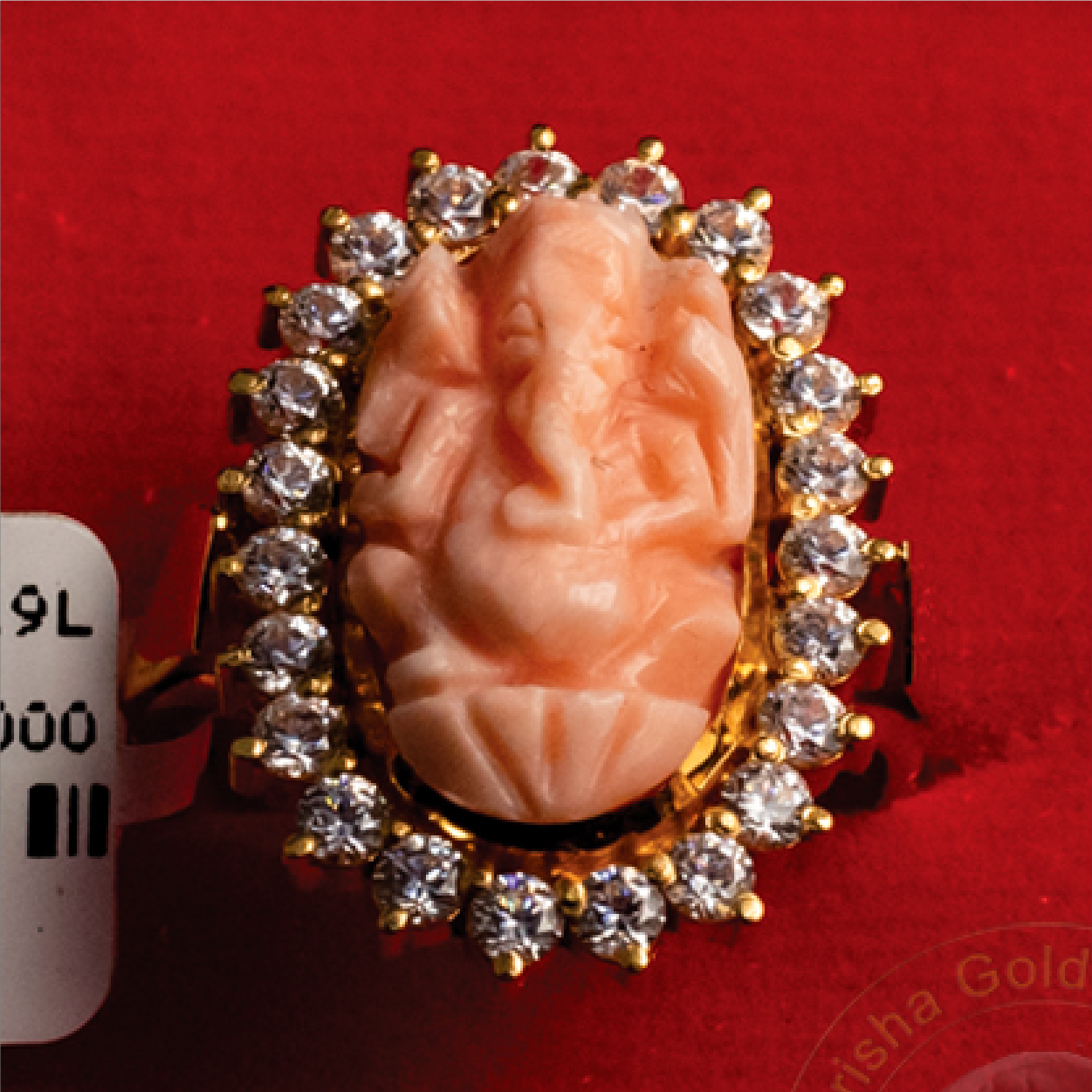 Lord Ganesh Faced Ring