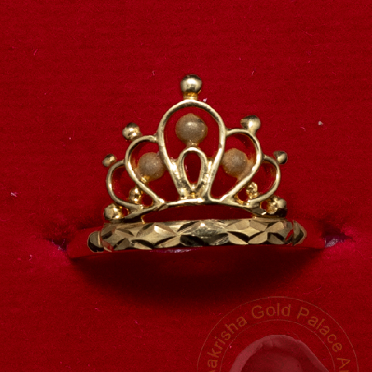 Crown Designed Rings